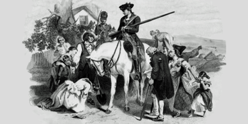 The people of Winchester, VA appealing to George Washington to protect them
