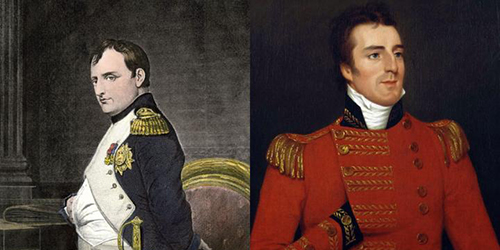 Napoleon and the Duke of Wellington