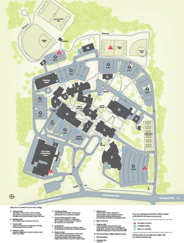 CAMPUS MAPS AND DIRECTIONS | ILR 55+ at FCC